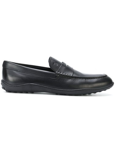 Tod's Penny Tod's Black Penny Loafers Loafers 77Ofxqrn
