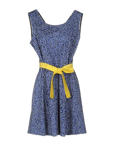 Hope Collection Short Dresses Blue 0eWpUQF