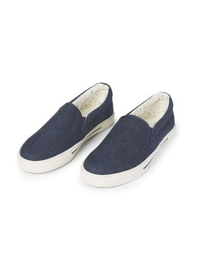 Fat Face Stoneby Floral Slip On Trainer Blue YNspIMkINx