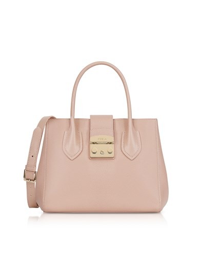 Furla Handbags Moonstone Leather Metropolis Small Tote Bag ob8PHIQ