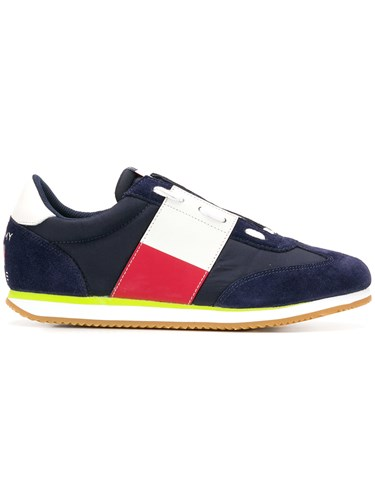 Tommy Jeans Lace Up Sneakers Blue rmRtYK