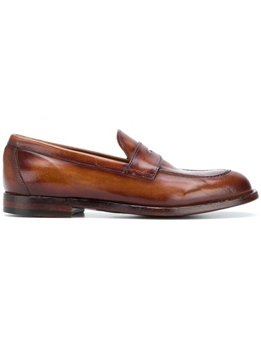 Officine Creative Loafers Leather Classic Brown rrSCq