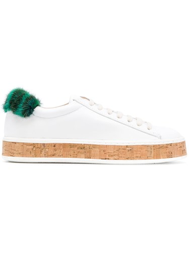 Mrs amp; White Italy Mr Sneakers Patch Fur H7A0q5FWw
