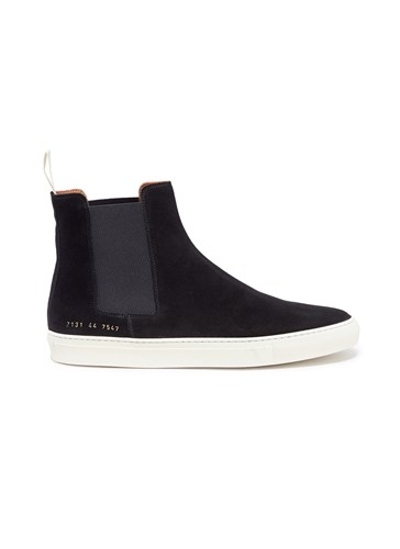 Suede Boots Projects Common Black Chelsea 6wqH8