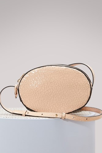 Repetto Leather Quadrille Bag NacgJTgmG