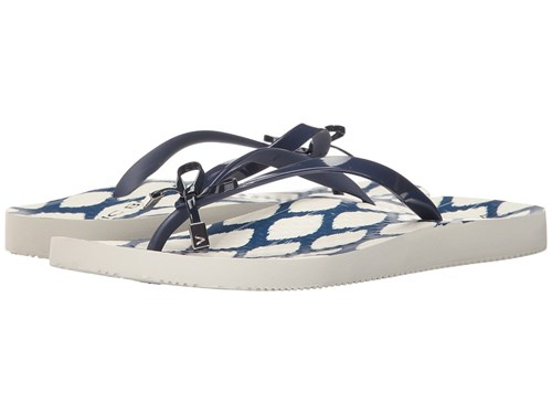 Women's White Navy Bells Vionic Sandals g7qz0tw