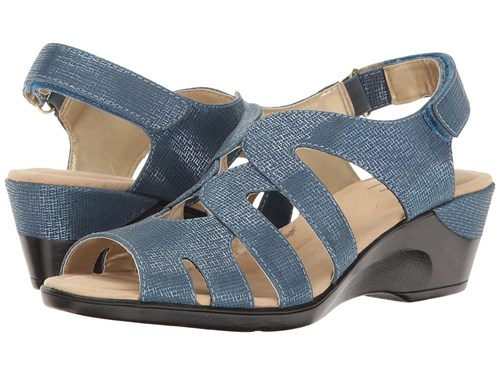 Patsie Shoes Soft Style Mid Blue Cambric 75wxwFqRH