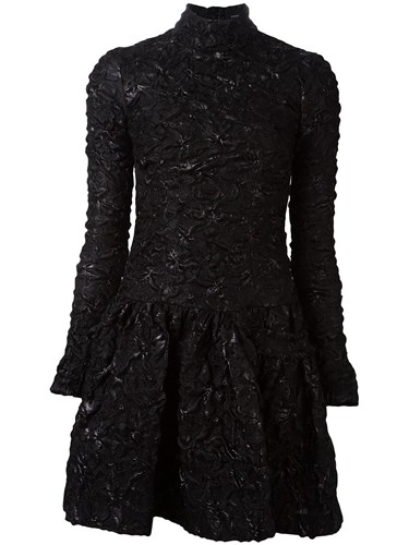 Black Dress Textured Rocha Mini Simone Cqw0XOW