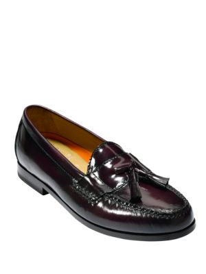 Haan Grand Tassel Loafers Cole Pinch Burgundy Leather q0dtEw