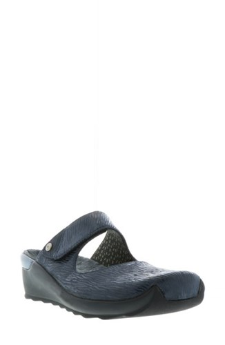 Wolky 'Up' Mary Jane Clog Denim pP1RUkyX4