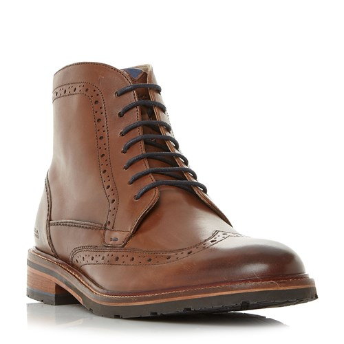 Oliver Sweeney Lowhill Wingtip Brogue Boots Tan RnhLf