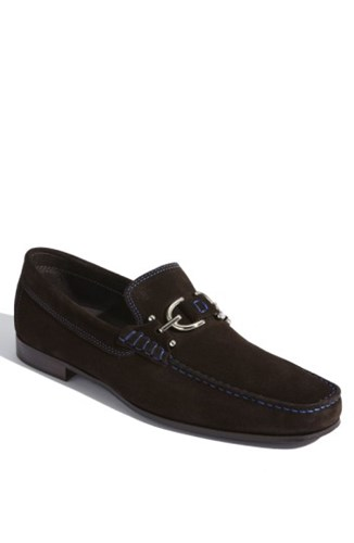 Donald J Pliner 'S 'Dacio Ii' Loafer Brown Suede 5eBRGw