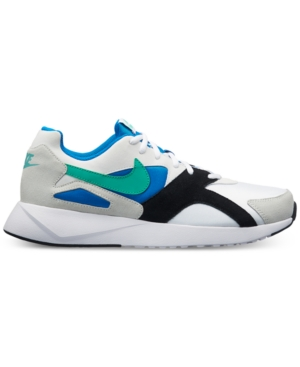 Nike Men's Pantheos Casual Sneakers From Finish Line White Kinetic Green Blue NJqDFpB