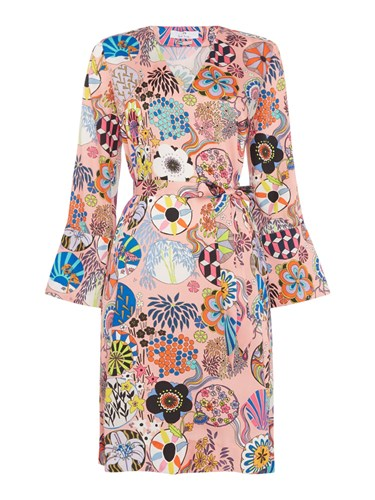 Paul Smith Ps By Enso Floral Tunic Dress Multi Coloured Multi Coloured JYM3TuE