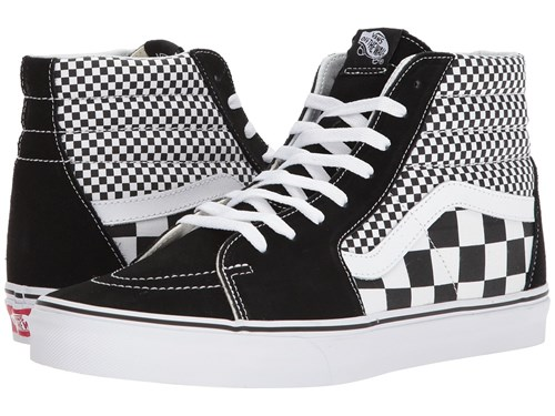 Checker Sk8 Hitm Vans Shoes Skate Black Mix True White dtHdq