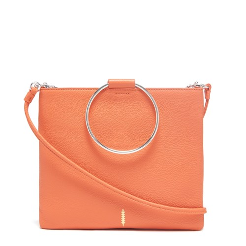 In Thacker New York Mandarin Yellow Le Orange Pouch xZIZBU