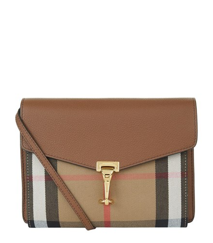 Cross Small Bag House Burberry Body Check Brown Wtgdg7F