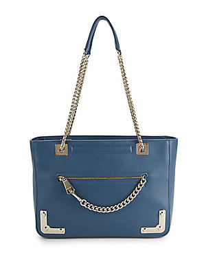 Furla Diana Top Zip Leather Tote Lampone cSn34W
