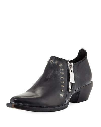Frye Sacha Rebel Short Ankle Boot Black mNQZnUpHl