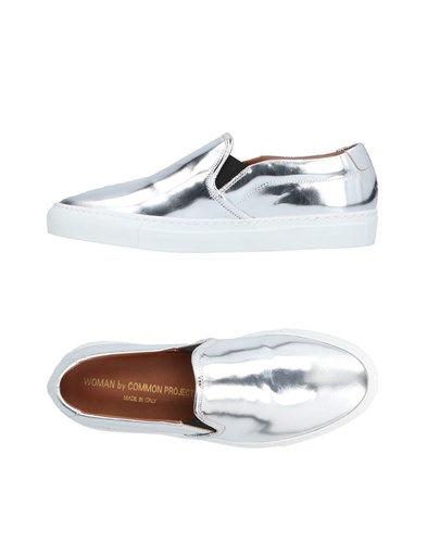 Woman Projects By Common Sneakers Silver waUc8