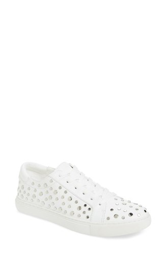 Kenneth Cole 'S New York 'Kam' Sneaker White Studded Leather TtcYmOy8px