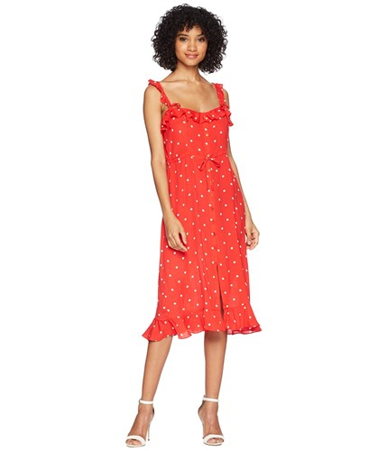 Lemons Natalia Dress For Midi Dot Red Love amp; Dot tqx4B4ES