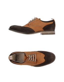SMITH'S AMERICAN Lace Up Shoes Dark Brown t7Bciwn