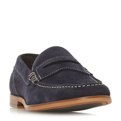 Dune Bayern Saddle Loafers Blue WgbwrPjB