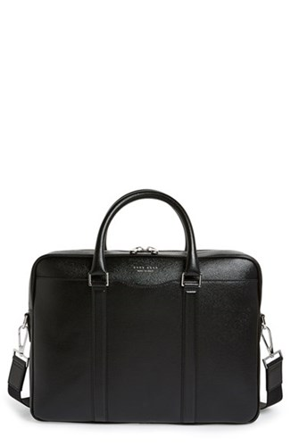 Boss Briefcase Boss Leather Men's 'Signature' Briefcase Men's 'Signature' Briefcase Leather 'Signature' Men's Boss Leather fwzXwqx