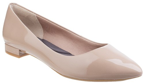 Rockport Total Motion Adelyn Ballet Shoes Taupe ppO2i8