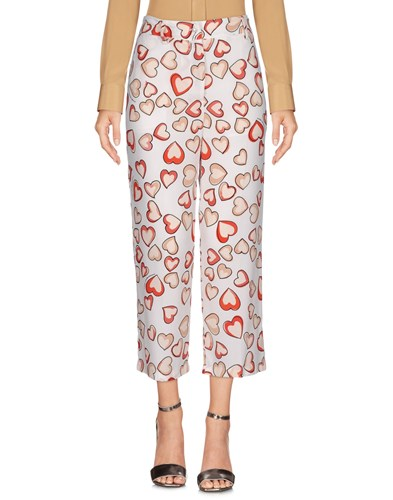 Trousers 3 4 Length Trousers White