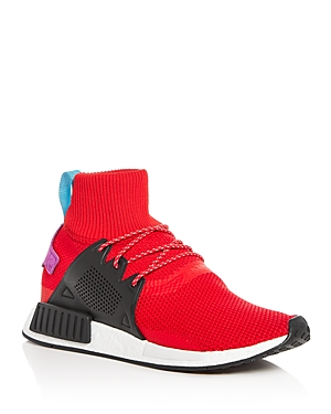 Men's Xr1 Red adidas Knit Sneakers Winter Nmd High Top S6SqdwAT