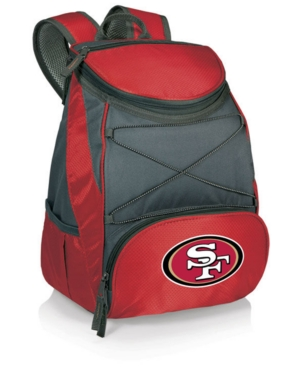 Picnic Time San Francisco 49Ers Ptx Backpack Cooler Red Charcoal XiM9s2Be