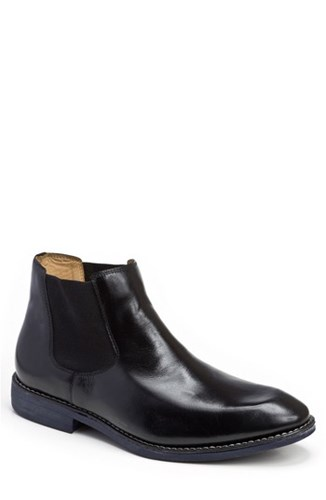 Sandro Moscoloni Men's Marcus Chelsea Boot Black Leather eNTMg