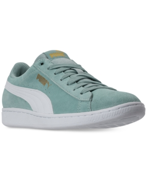Puma Women's Vikky Casual Sneakers From Finish Line Aquifer White TG7rrJ1S1a
