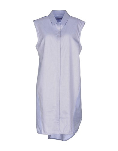 Richard Nicoll Dresses Short Dresses Women Blue 5s4Sgv