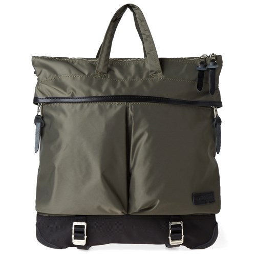 Master Piece Lightning Helmut Bag Green oaVCt6