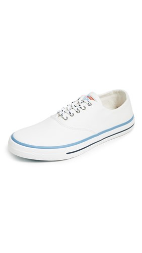 Sperry Captain's Cvo Nautical Sneakers White elchV