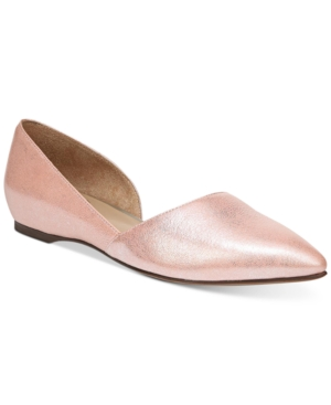 Naturalizer Samantha Flats Women's Shoes Pink y2L8XgLpZ