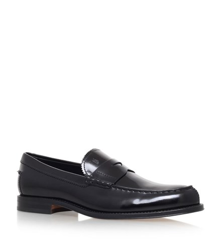 Tod's Patent Penny Loafers Male Black FfcxgCi