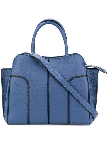 Blue Contrast Tod's Trim Contrast Tod's Tote qYnf6wXO