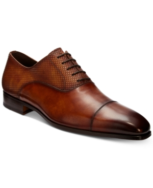 Massimo Emporio Men's Cap Toe Lace Up Oxford Created For Macy's Men's Shoes Cuero wvJty1B