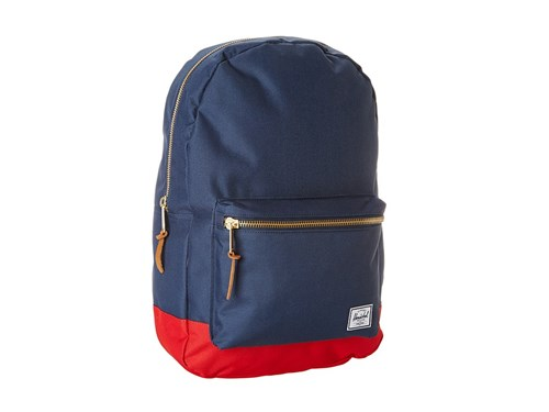 Herschel Supply Co. Settlement Navy Red Backpack Bags EAel3Ptaur
