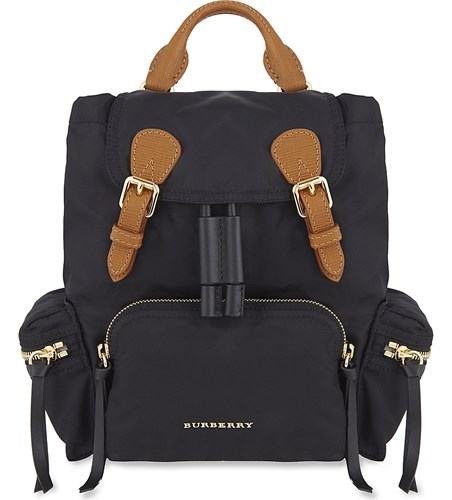 Burberry Small Burberry Black Small Nylon Backpack rEa6rwq