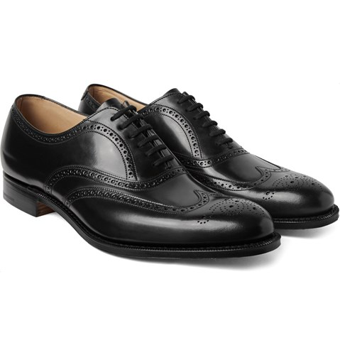 Wingtip Berlin Leather Black Brogues Church's 5SXqdCwx5