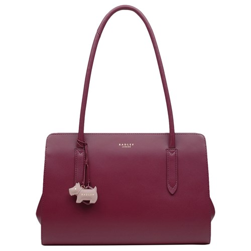Medium Leather Radley Tote Liverpool Street Bag Berry tTHUqwH