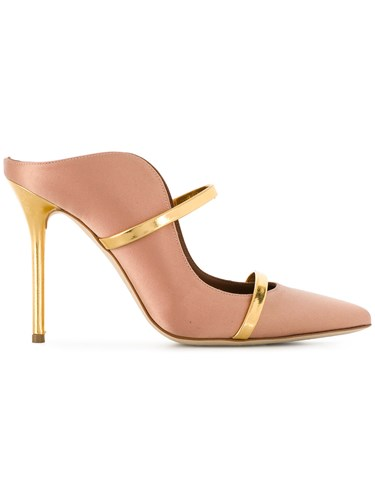 Malone Souliers Maureen 100 Pumps Nude And Neutrals 64UWq