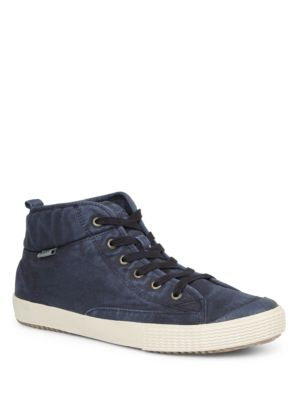 Textured Simple Navy Up Sneakers Lace xFAqPdwn8A