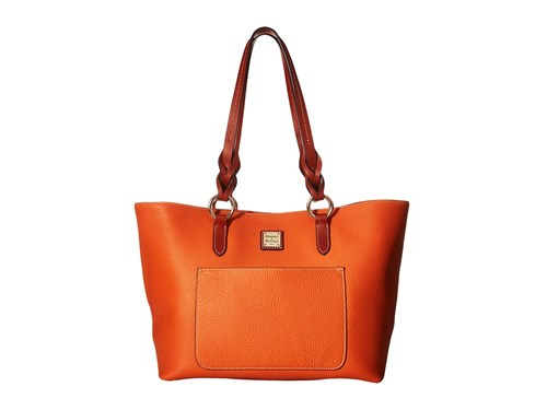 Bourke Dooney Trim Orange Tote Tammy Handbags amp; Pebble Tangerine Tote Tan UxawP5qHWx