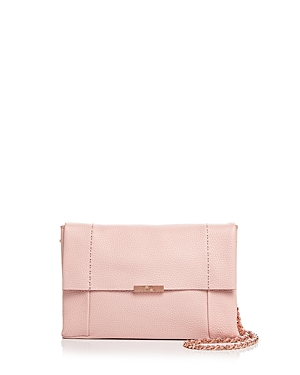 Ted Baker Parson Soft Leather Crossbody Light Pink Rose Gold qIW7A